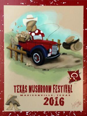 winning-poster-for-the-texas-mushroom-festival-poster-contest