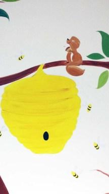Woodland Animal Mural Image 2