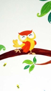 Woodland Animal Mural Image 3