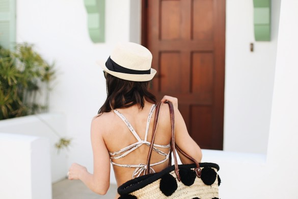 Cute Beach Outfit Ideas featured by popular Los Angeles fashion blogger, Ashley Hodges