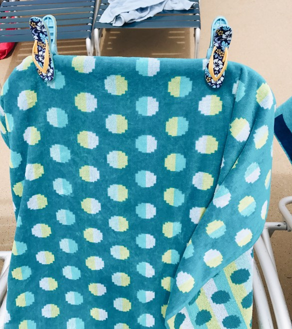 Beach Towel Clips - Oasis of the Seas Review featured by popular Los Angeles travel blogger, Ashley Hodges