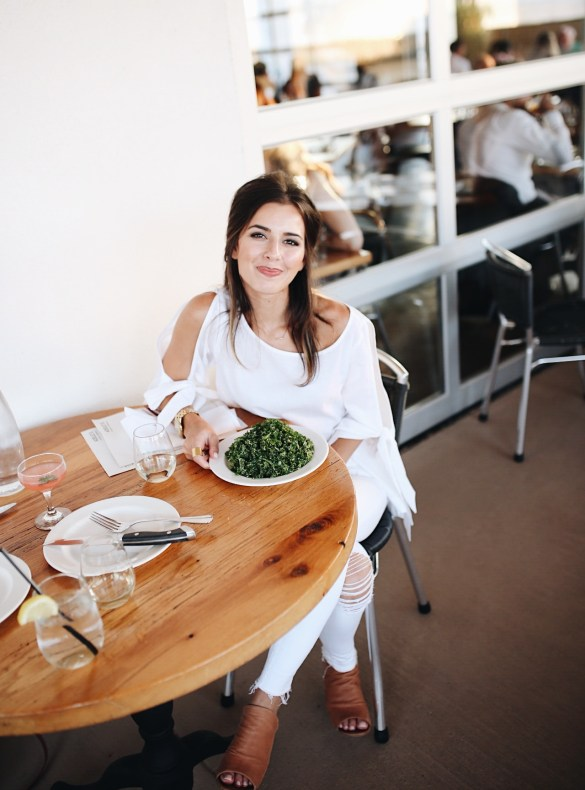 Adele's, Kale Salad - THE ULTIMATE NASHVILLE CITY GUIDE featured by popular Los Angeles travel blogger, Ashley Hodges