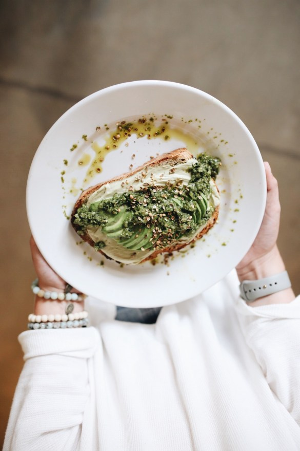 The BOX, Avocado Toast - THE ULTIMATE NASHVILLE CITY GUIDE featured by popular Los Angeles travel blogger, Ashley Hodges