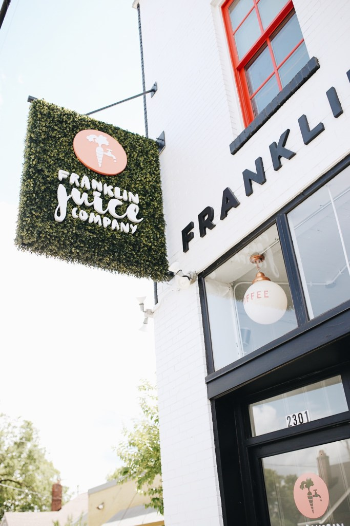 Nashville City Guide by Ashley Hodges // Ashley Terkeurst Hodges // Nashville // Franklin Juice Company // travel guide // blogger - THE ULTIMATE NASHVILLE CITY GUIDE featured by popular Los Angeles travel blogger, Ashley Hodges