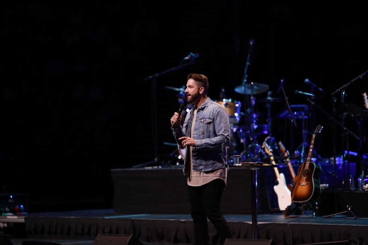 Motion Student Conference Recap by Alabama Lifestyle Blogger Ashley Hodges of AshleyTerk // Mark Pettus // Church of the Highlands // Student Conference // Birmingham Alabama Lifestyle Blogger