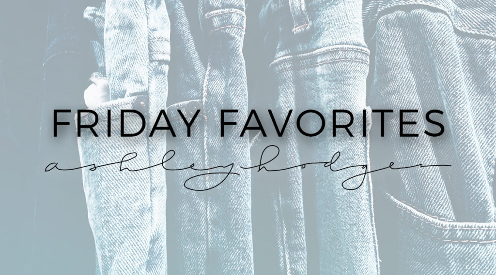 Friday Favorites // Trending Denim // Ashley Terkeurst Hodges // Ashley Terk // nordstrom // urban // h&m // topshop