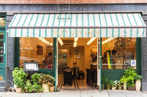 New York City Guide by Ashley Hodges // Ashley terk // jack's wife freda // NYC food // best lunch spots in NYC - New York City Guide, Where to Stay, Eat and Visit featured by popular Los Angeles travel blogger, Ashley Hodges