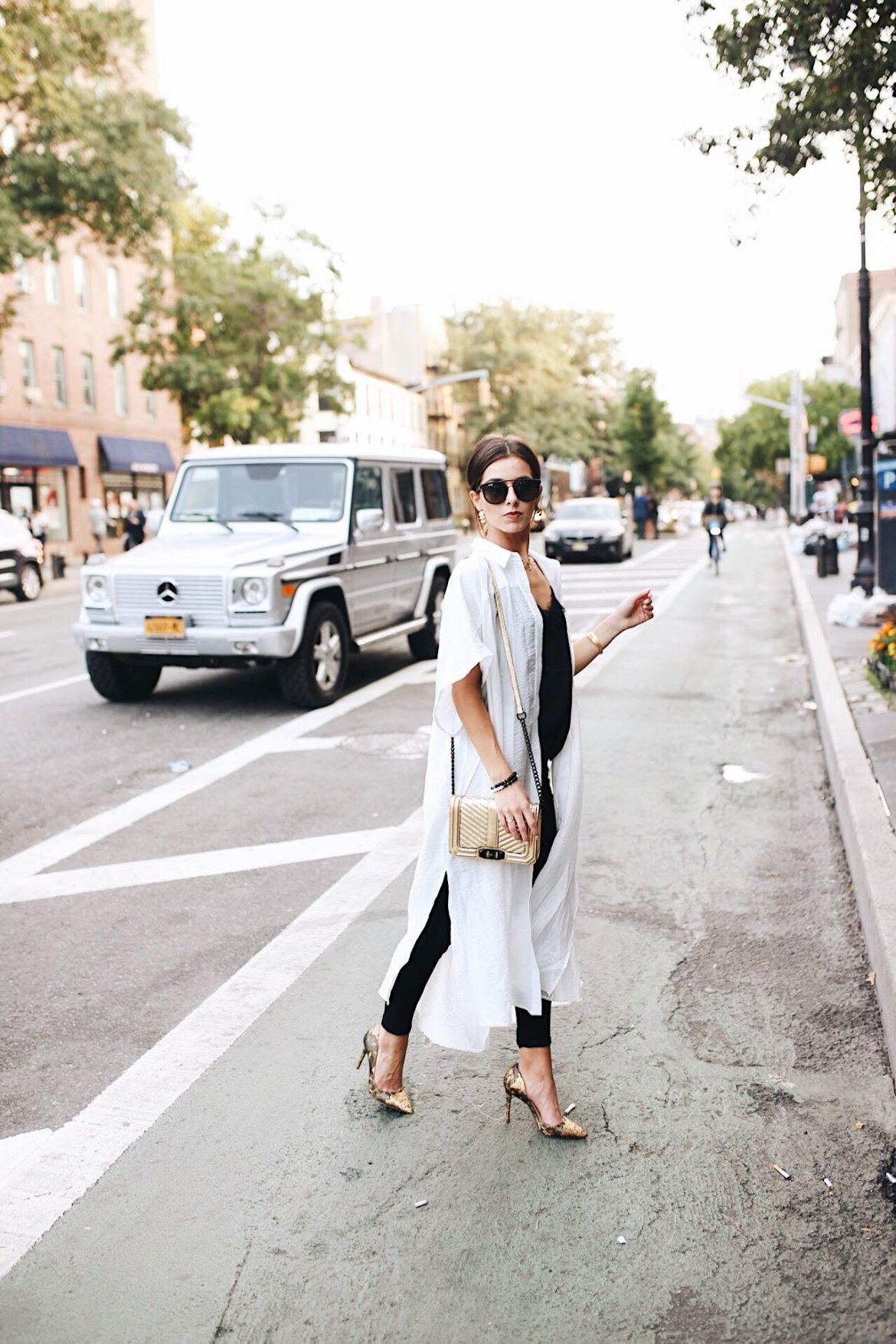 New York Fashion Week 2017 by Ashley Hodges of Ashley Terk // street style // nyfw // 2017 // women's fashion // free people // diff eyewear // g wagonNew York Fashion Week 2017 and Outfit Details featured by popular Los Angeles fashion blogger, Ashley Hodges