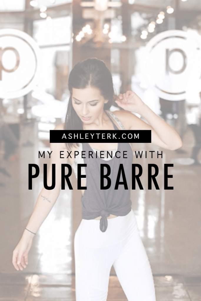 Ashley Terkeurst Hodges || Pure Barre Review || Reasons to try Pure Barre || Workouts for Women - Pure Barre Class featured by popular Los Angeles lifestyle blogger, Ashley Hodges