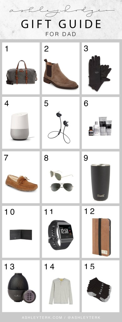 Nordstrom | Gift ideas | Holidays | Christmas | Christmas Gifts for Dads featured by top Los Angeles lifestyle blog Ashley Hodges