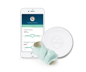 Baby Registry Essentials featured by popular Los Angeles life and style blogger and new mom, Ashley Terk: Owlet Smart Sock