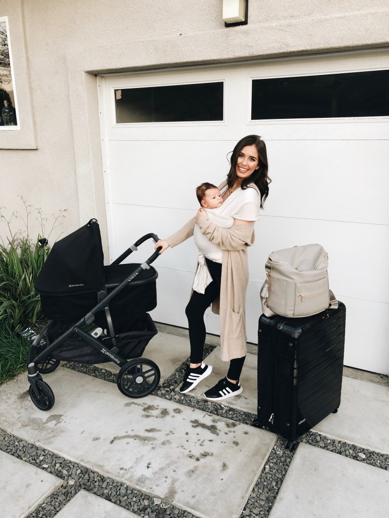 Traveling with an Infant: Tips, Tricks, and What to Pack featured by top Los Angeles lifestyle blogger, Ashley Hodges