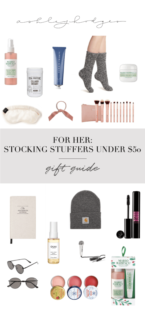 Top Gift Guide: Stocking Stuffer Ideas For Her featured by top Los Angeles life and style blogger Ashley Hodges