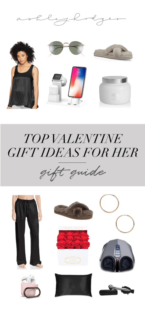 Top 10 unique valentines day gifts for her featured by top US life and style blogger, Ashley Terk.