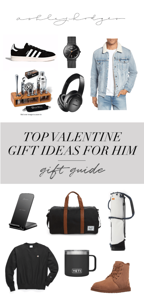 Top 10 Valentines Day Gifts for Him He'll Love featured by top US life and style blogger, Ashley Terk