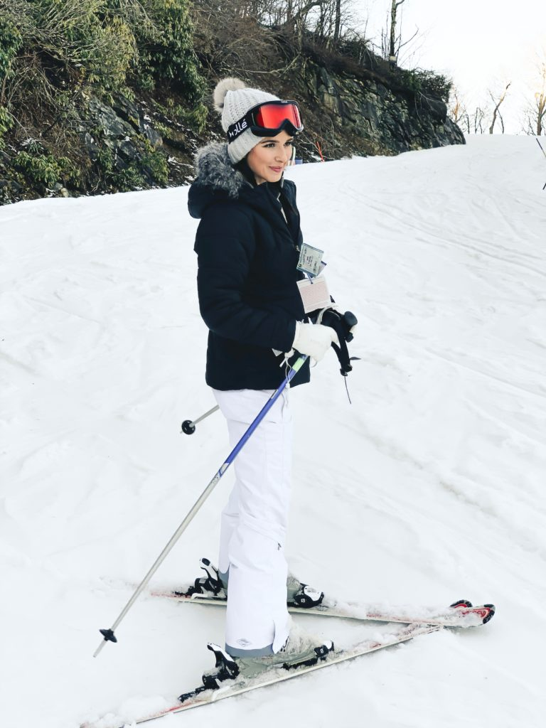 Affordable Ski Clothes Guide featured by top US fashion blogger, Ashley Hodges