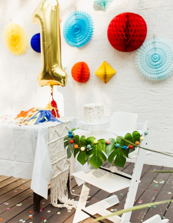 One is Fun birthday party featured by top US life and style blogger, Ashley Hodges