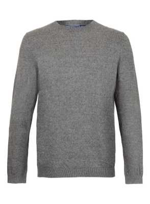 Topman Grey Crewneck Sweater