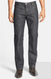 Burberry Brit 'Steadman' Straight Leg Jeans, $195