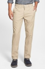 Bonobos 'The Khakis' Slim Tailored Washed Cotton Chinos in True Khaki Beige