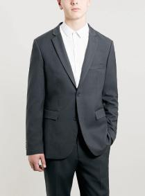 Topman Grey Slim Fit Suit