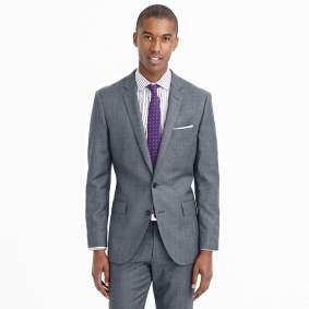J.Crew Ludlow Suit in Worsted Wool