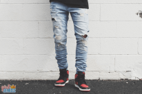 Ashley-Weston-Light-Stacked-Jeans-Nikes