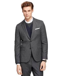 Brooks Brothers - Herringbone Suit Jacket