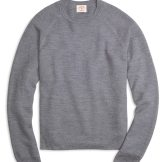 Brooks Brothers Merino Wool Honeycomb Crewneck Sweater