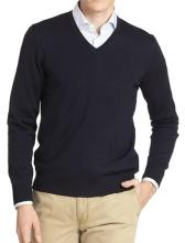 J.Lindeberg Black V-Neck Sweater