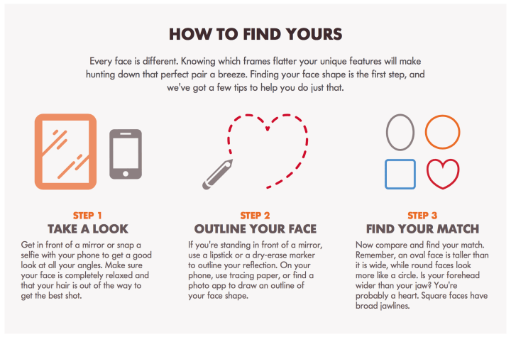 Finding Frames For Your Face | Frameswall.co