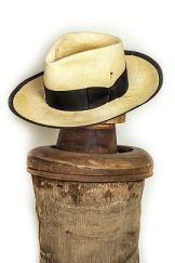 Nick Fouquet Panama Straw Hat