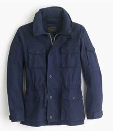 J. Crew Field Mechanic Navy Jacket