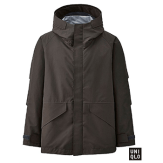 Uniqlo Men U BlockTech Olive Parka