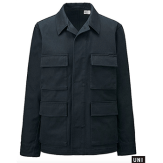 Uniqlo Men U Work Navy Jacket