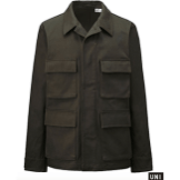 Uniqlo Men U Work Olive Jacket