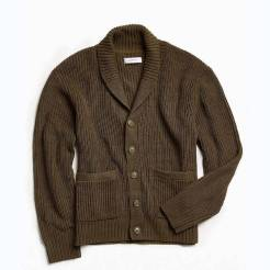 Urban Outfitters Shawl Olive Cardigan