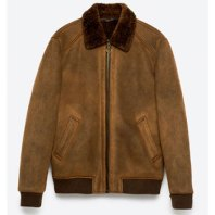 Zara Double Faced Bomber Jacket