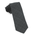 The Tie Bar Woolf Houndstooth Tie