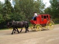 Take a carriage ride through Fort Edmonton Park