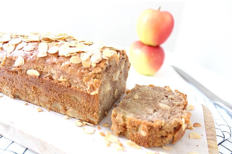 Appelcake met amandelspijs