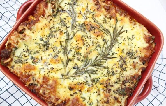 lasagne zonder pakjes en zakjes