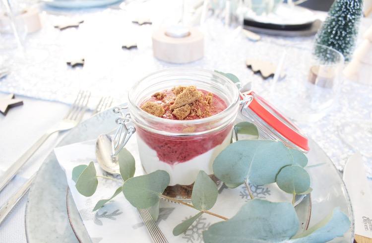 Monchou taart in een glas