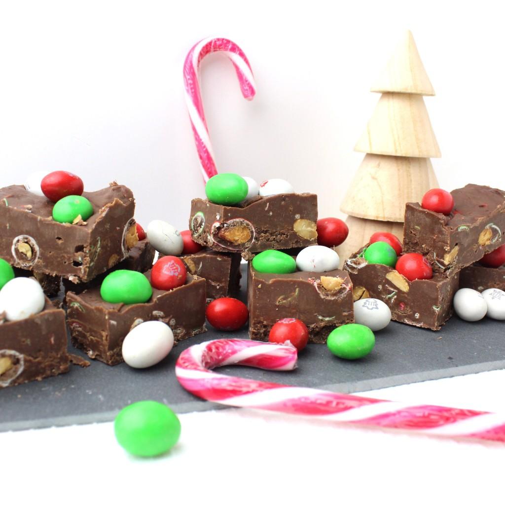 kerst fudge