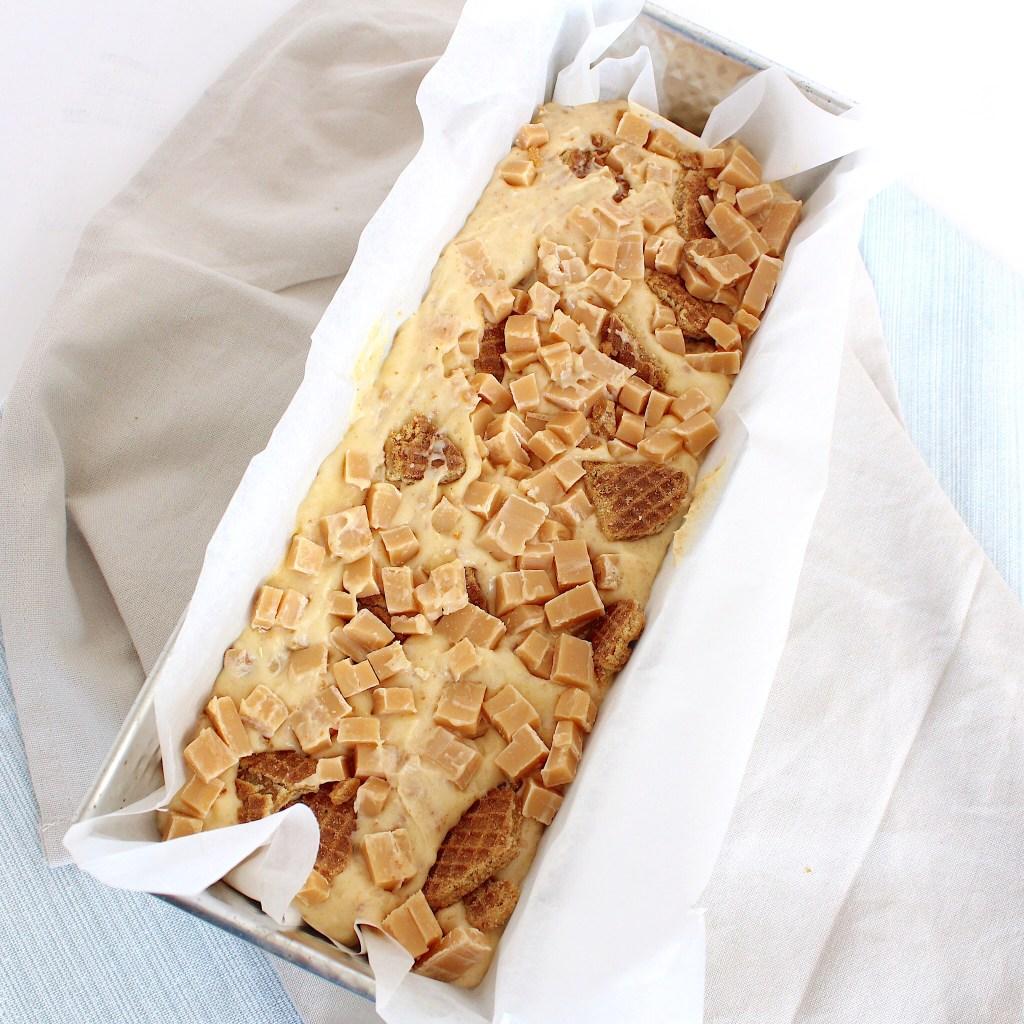 Stroopwafelcake met caramel fudge