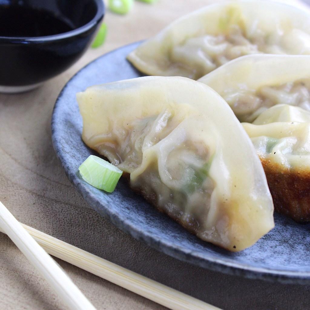 Gyoza met kip (Japanse dumplings)
