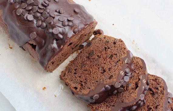 Dubbele chocolade cake