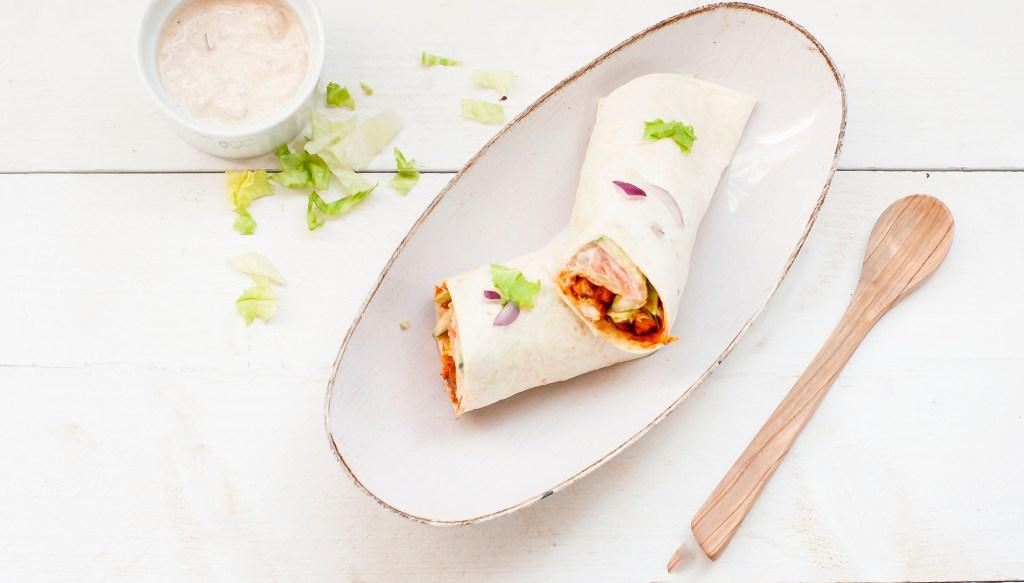 Kip tandoori wraps