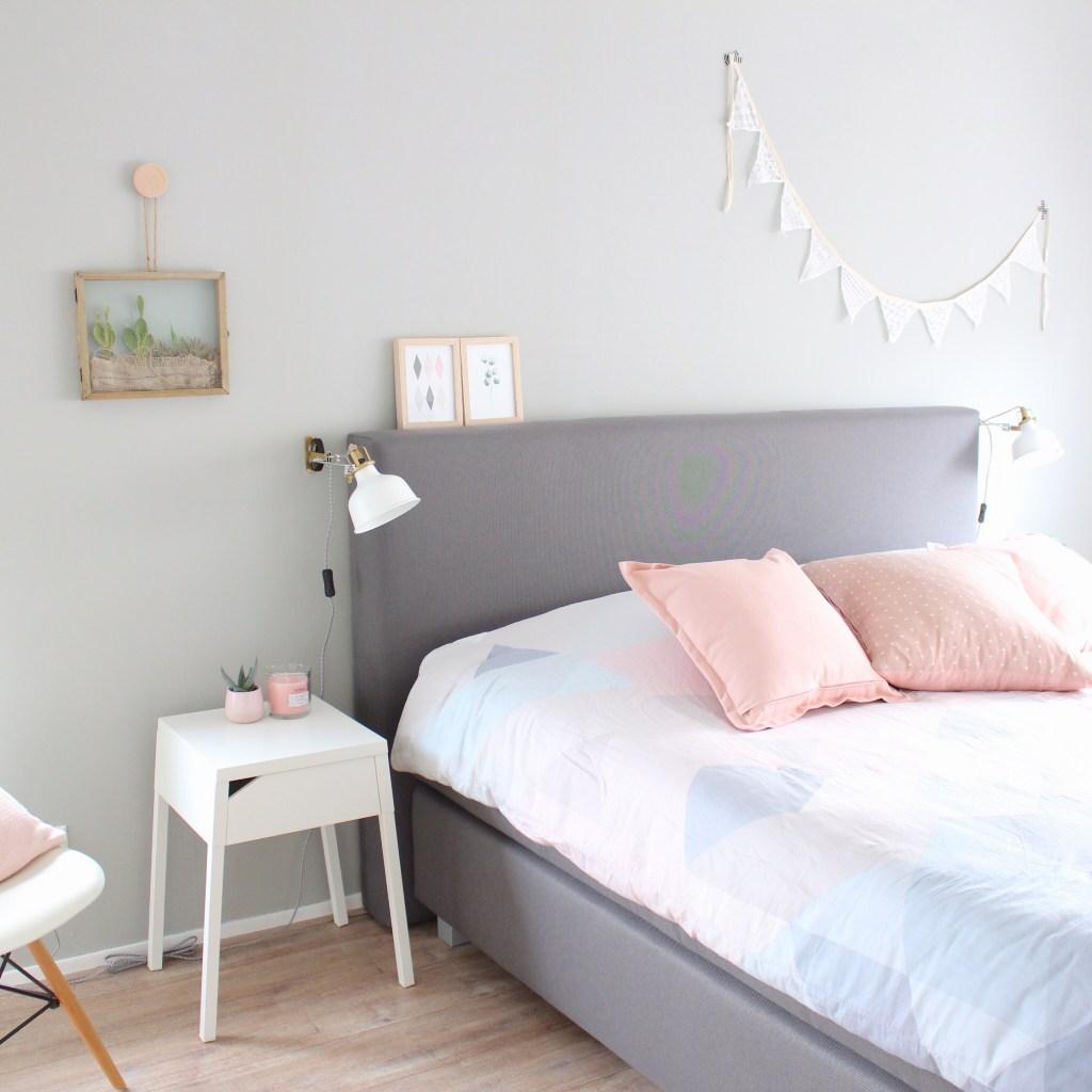 Kijkje in de slaapkamer
