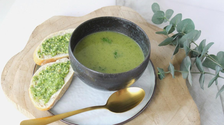 Super simpele courgette soep